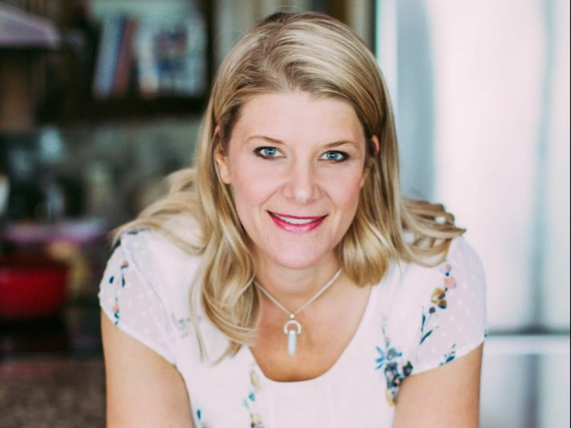 Kimlyn Powers, RN, provides women's health services with proper nutrition